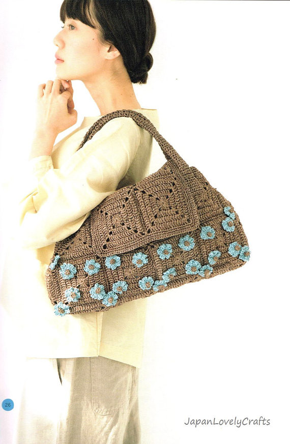 Eco Andaria Crochet Bag Patterns Japanese Craft Book Sum Flickr