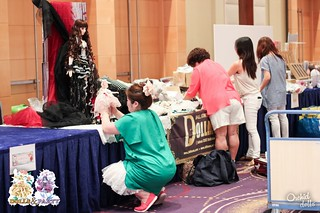 Dolls&Party 2015 Booth Assembly | by Sakura Dragonhearth