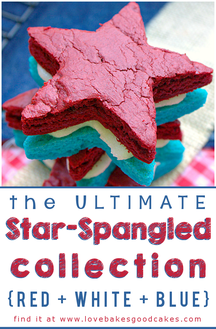 The ULTIMATE Star-Spangled Collection! (Red White Blue) - Find inspiration for the 4th of July, Memorial Day, Flag Day or any time you want add a patriotic flair!