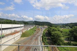 新幹線と在来線の保守基地