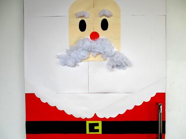 Santa Claus door
