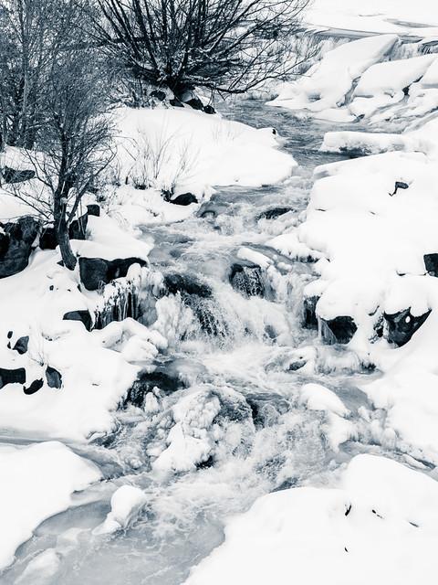 ice, snow, & water