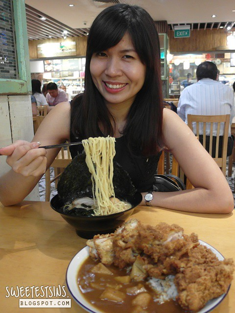 singapore food blogger patricia tee at udon goen