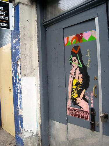 Amy Street Art Camden