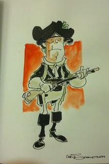 Captain Unterbrusch by Chris Schweizer