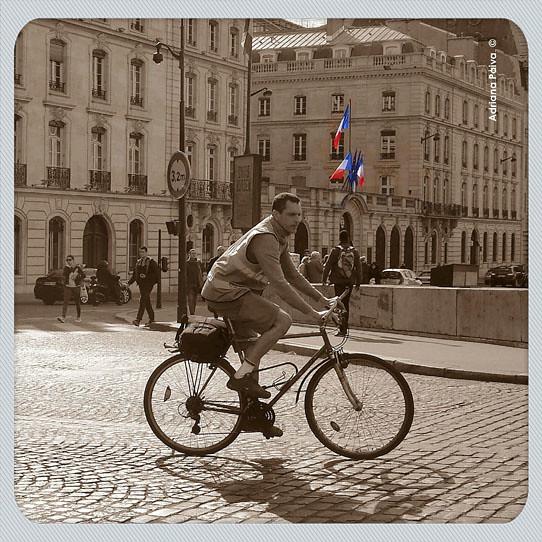 transportes modal modais ruas de Paris experiência europeia Europa europeus
