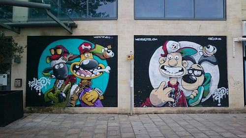 Cheo's tribute to Wallace, Gromit & Shaun