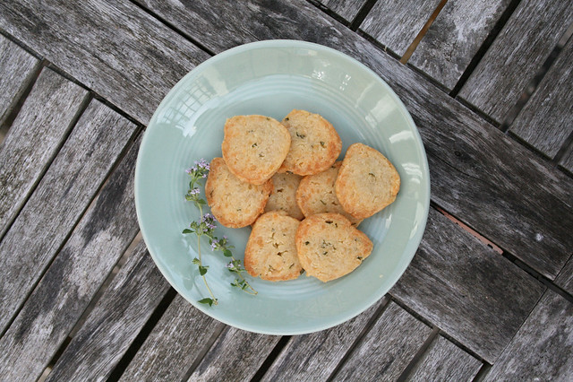 cheese & thyme biscuits