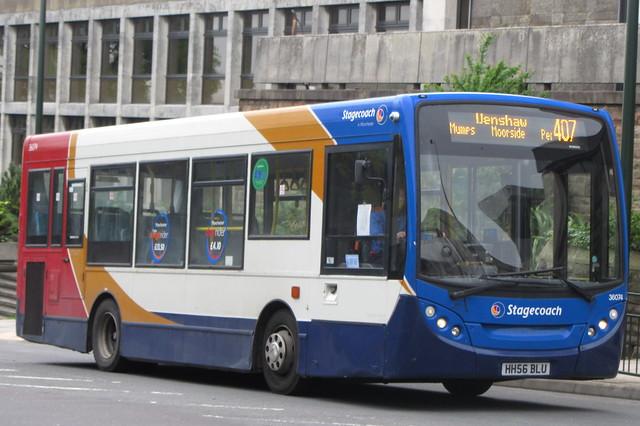Enviro200 Stagecoach Manchester HH56 BLU, Oldham