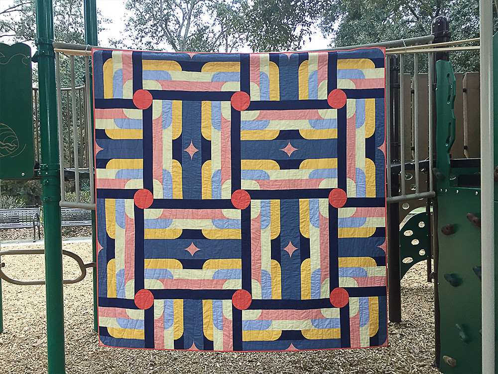 Wired Quilt at Playground
