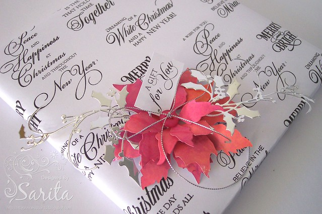 DIY Christmas gift wrap 2b