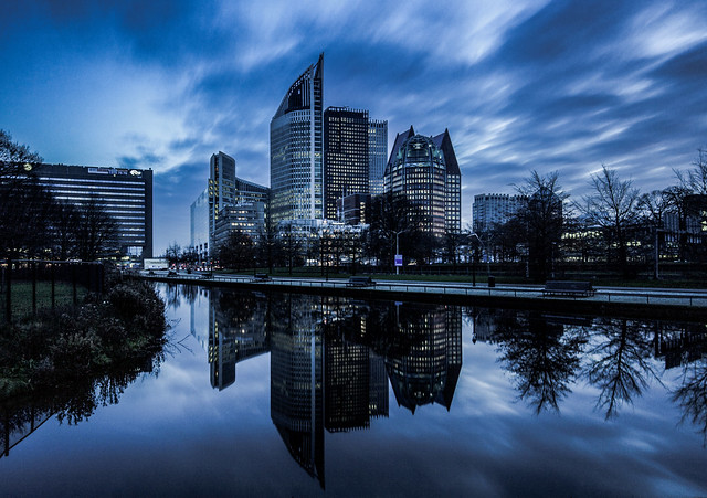 Cityscape of The Hague