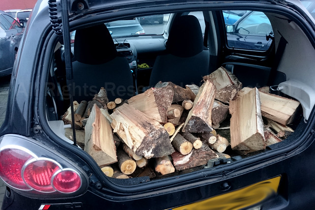 Wood in Toyota Aygo