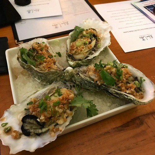 Steamed King Oysters with Garlic & Vermicelli - Blue Lotus 2017 CNY