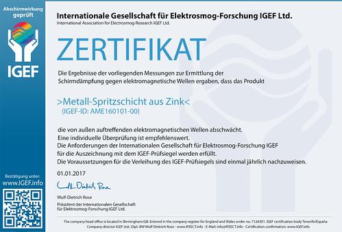 IGEF-Zertifikat-AME-DE