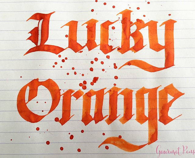 Ink Shot Review Montblanc Lucky Orange @AppelboomLaren 9