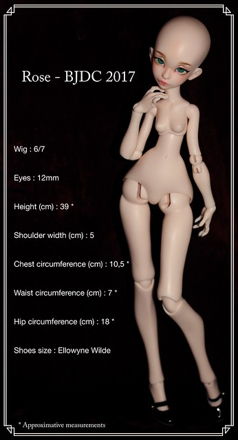 Rose's measurements
