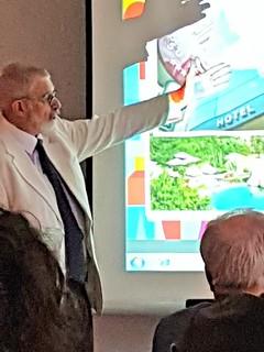 Benjamín Liberoff, viceministro de turismo de Uruguay.