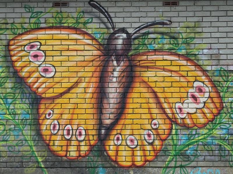 Taff Trail street art