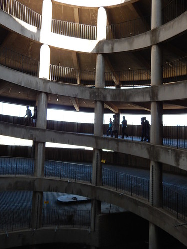 Spiralling in the Ponte City Tower