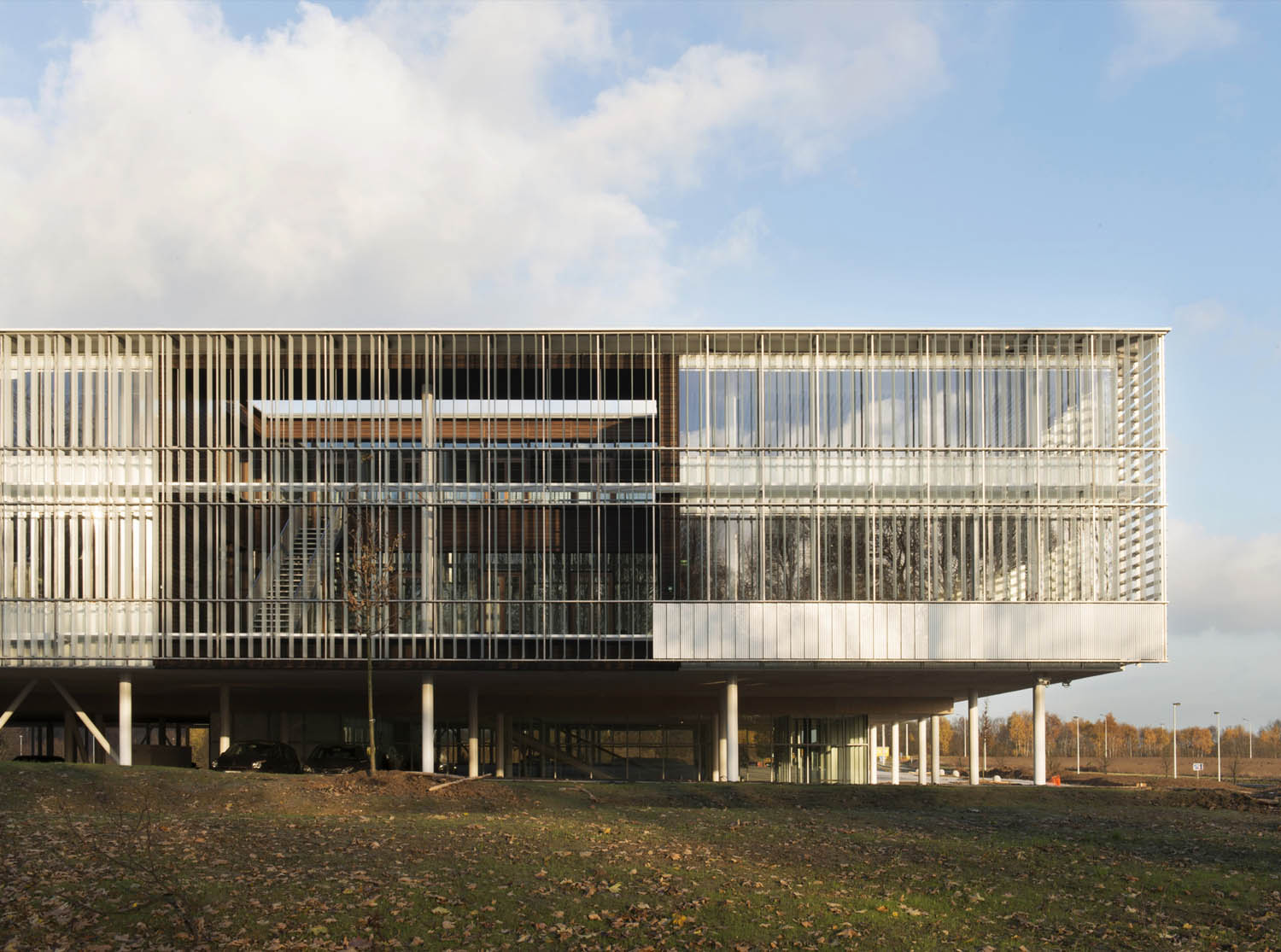Head Office of AGC Glass Europe  design by SAMYN and PARTNERS