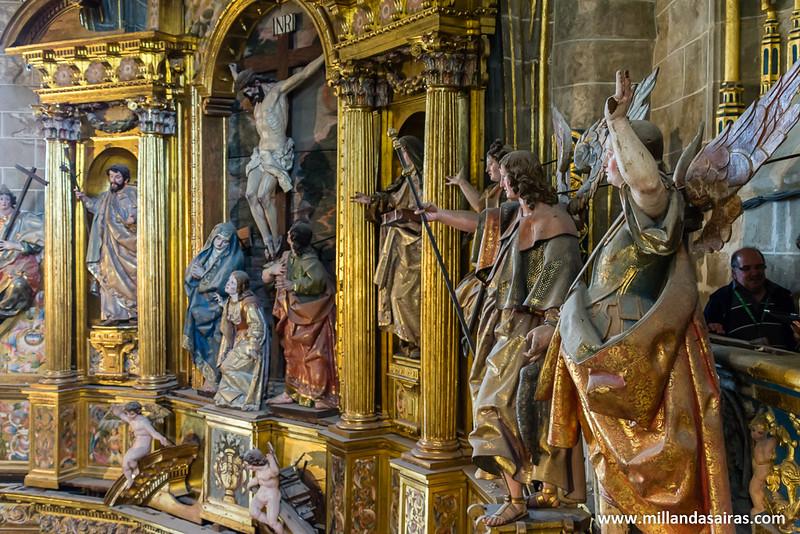 Por más retablos que vea, el final de la pelicula siempre acaba con alguien crucificado...