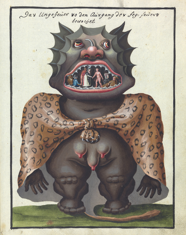 L0076370 A compendium about demons and magic. MS 1766.