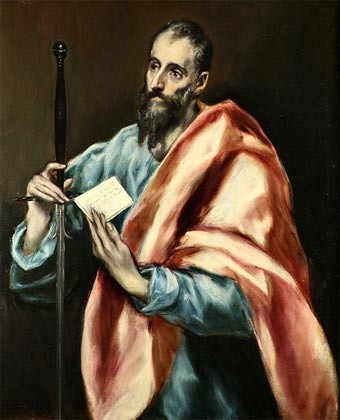 Pablo de Tarso según El Greco