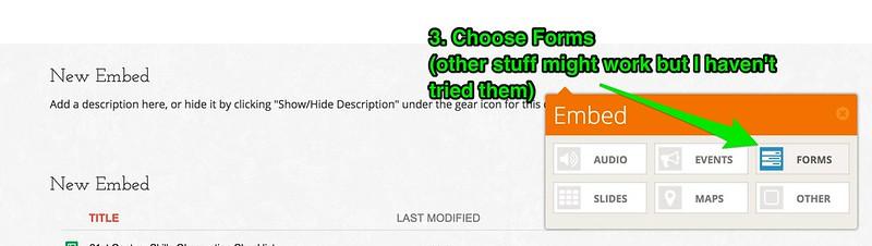 2. populr.me google folder embed
