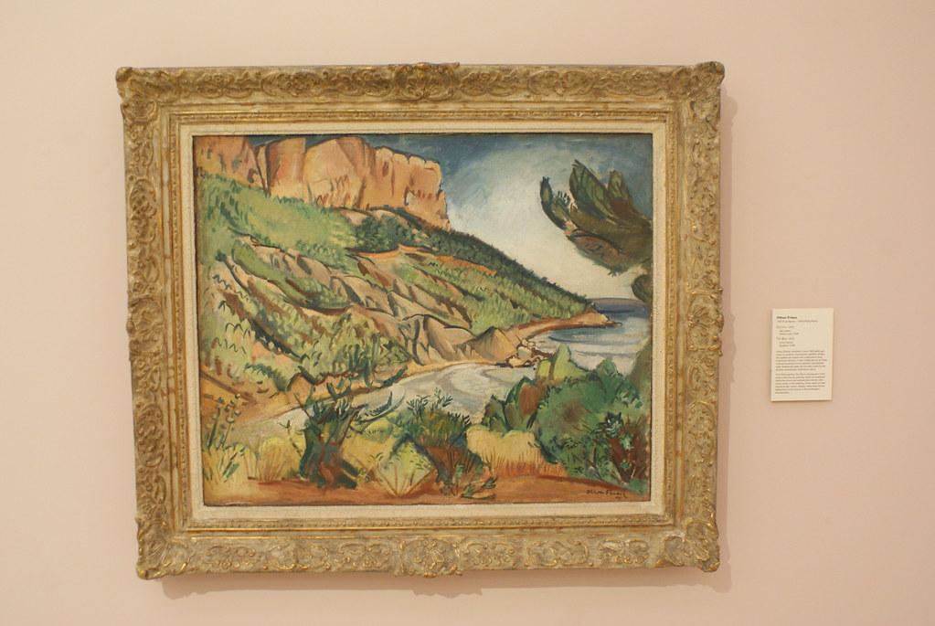 Paysage de Cassis par Achille-Émile Othon Friesz.