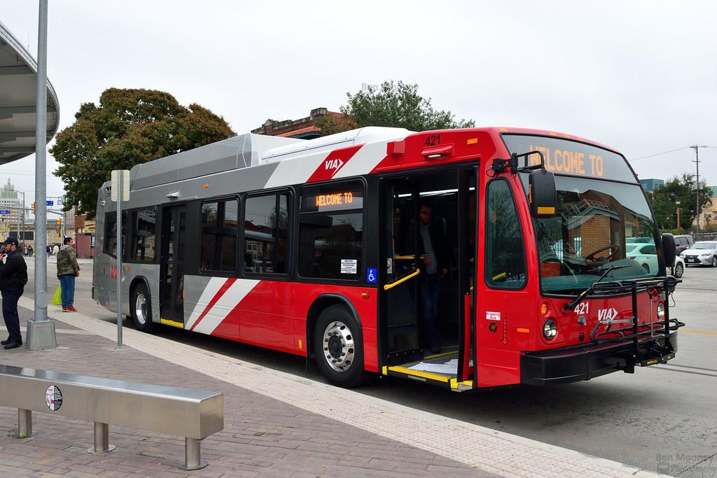 Via Metropolitan Transit Nova Bus 421 Cng Manufacturer