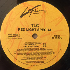 TLC:RED LIGHT SPECIAL(LABEL SIDE-B)