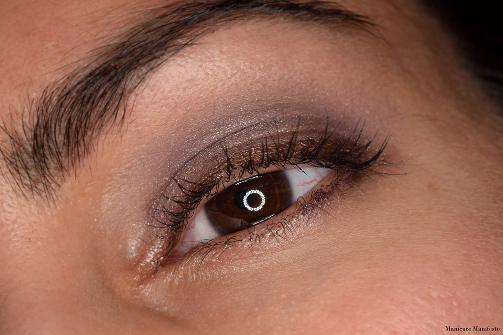 Smokey purple eye tutorial
