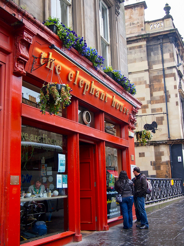Elephant House Cafe in Edinburgh