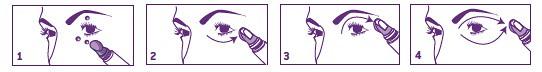 Nuxellence® Zona Contorno de Ojos. Modo de aplicación