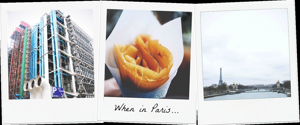 The Paris Diaries - When in Paris ... | via It's Travel O'Clock