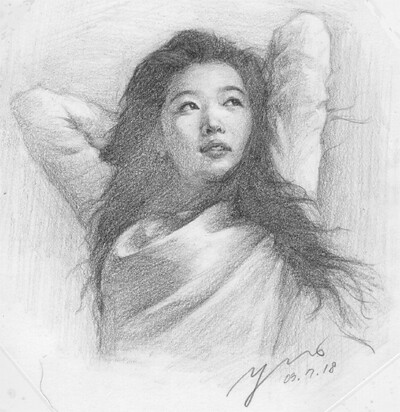 ºjeon ji hyun fan art pencil drawings 003 by ºjeon ji hyun