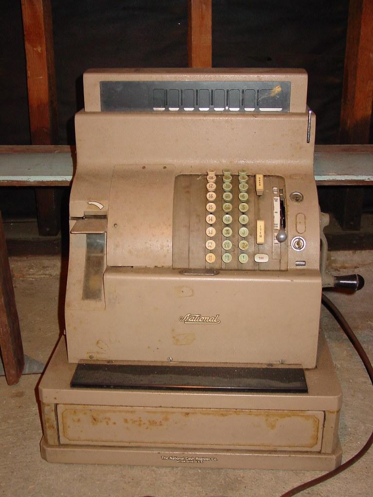 Cash Back Near Me >> Vintage National Cash Register (1of2) | Free Old National Ca… | Flickr