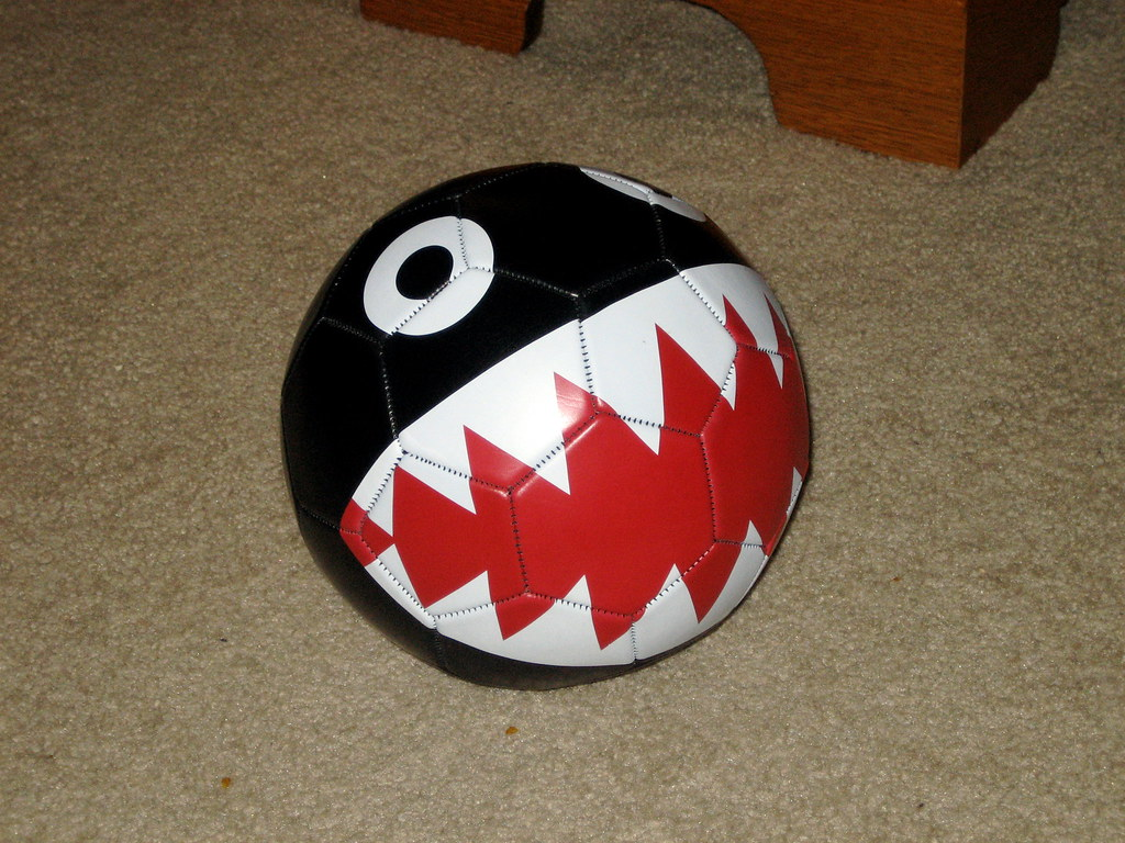 Chomp Football   I won this in the Nintendo Power contest fo\u2026   Flickr