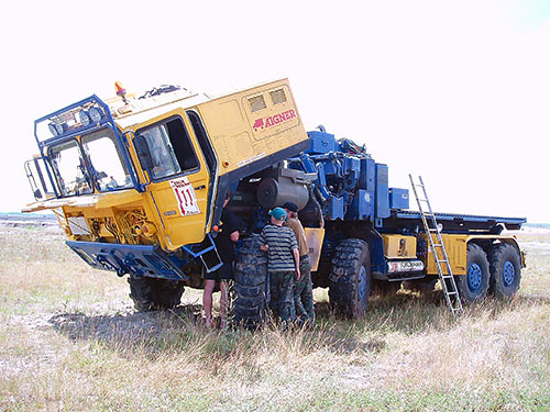 Man Kat Service Truck Man Kat With Detroit Diesel Engine