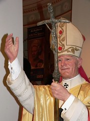 Pope John Paul II eternally blesses visitors to Madame Tussauds | by mharrsch