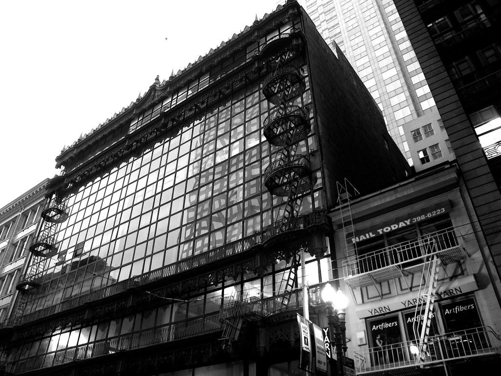 Hallidie Building San Francisco Designed By Willis Polk