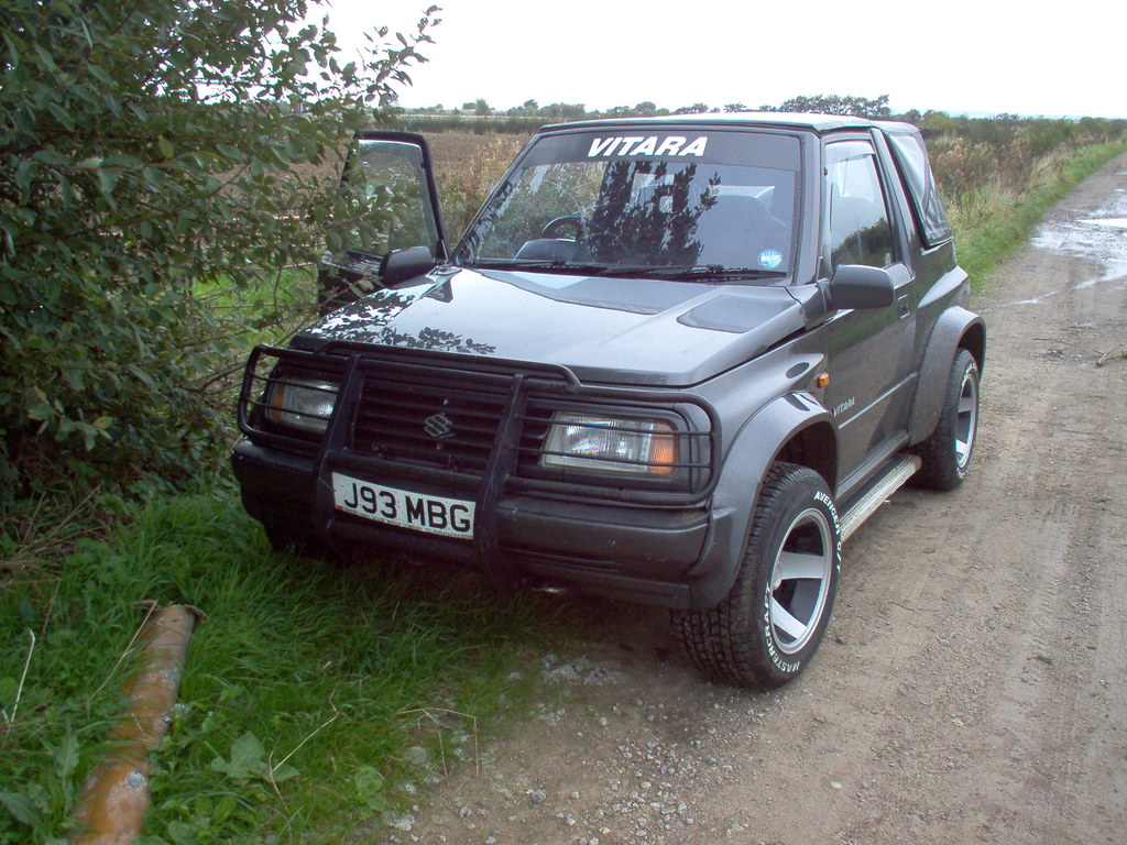 suzuki 4x4 vitara fatboy the boat towing vehicle flickr. Black Bedroom Furniture Sets. Home Design Ideas