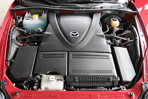 Mazda >> Mazda RX8 Renesis Rotary Engine | Plastic shrouds cover all … | Flickr