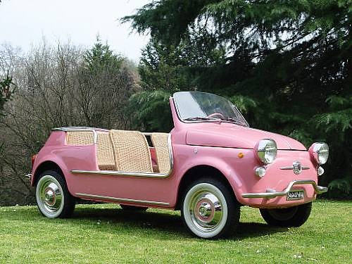 Fiat 500 Jolly Beach Car By Ghia 1959 Fiat 500 Jolly