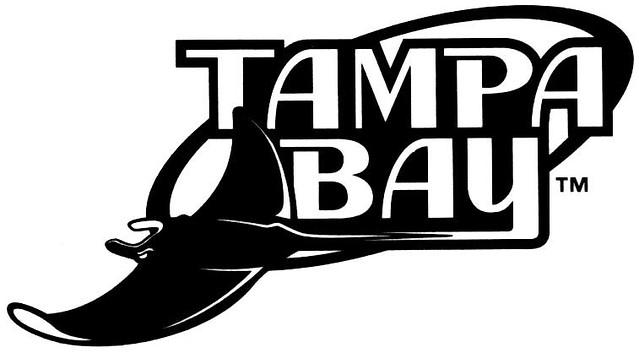 devil rays logo black and white elkab0ng flickr