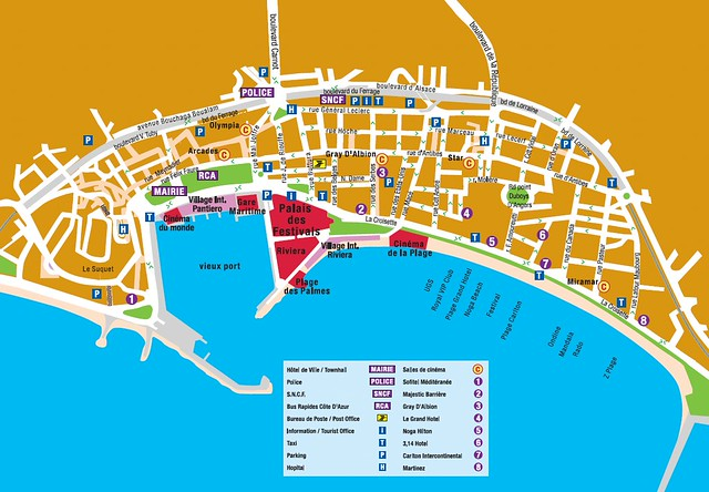 Map of Cannes longplay Flickr