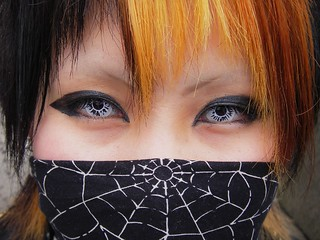 Cosplay Kid with Contacts, Harajuku, Tokyo, Japan | by LeeLeFever