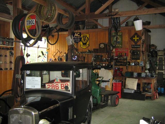Interior Of A 1930s Garage