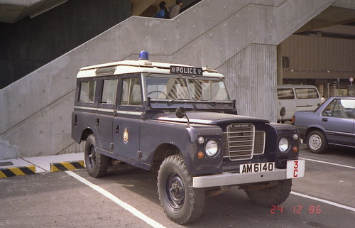 Hong Kong Police Land Rover in 1986 | Land Rover Series ...